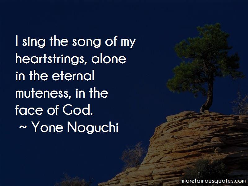 Yone Noguchi Quotes