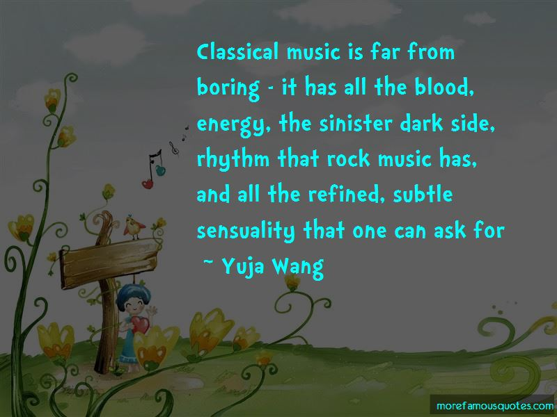 Yuja Wang Quotes Pictures 2