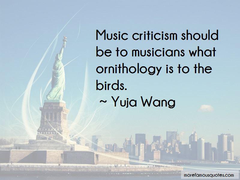 Yuja Wang Quotes