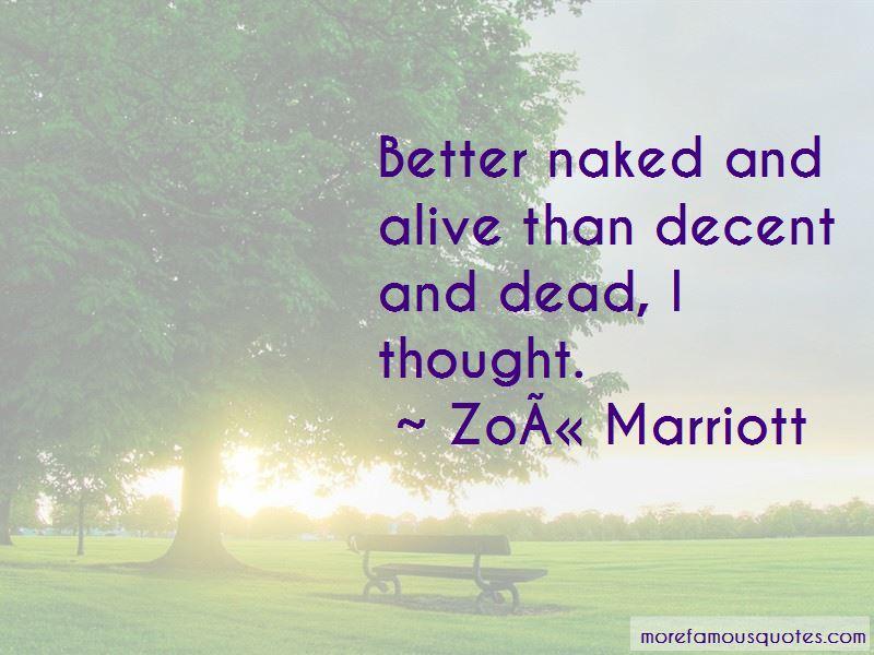 Zoe Marriott Quotes Pictures 3