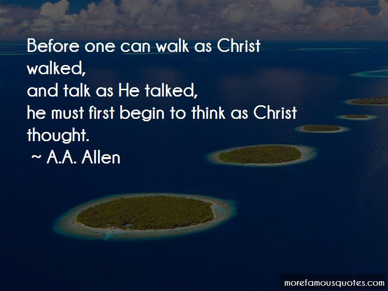 A.A. Allen Quotes