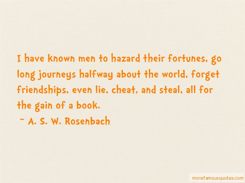 A. S. W. Rosenbach Quotes Pictures 3