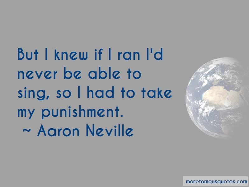Aaron Neville Quotes