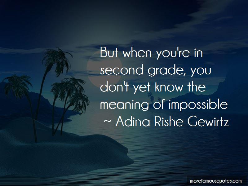 Adina Rishe Gewirtz Quotes Pictures 2