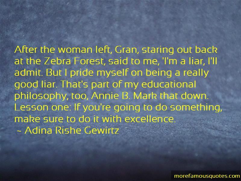 Adina Rishe Gewirtz Quotes
