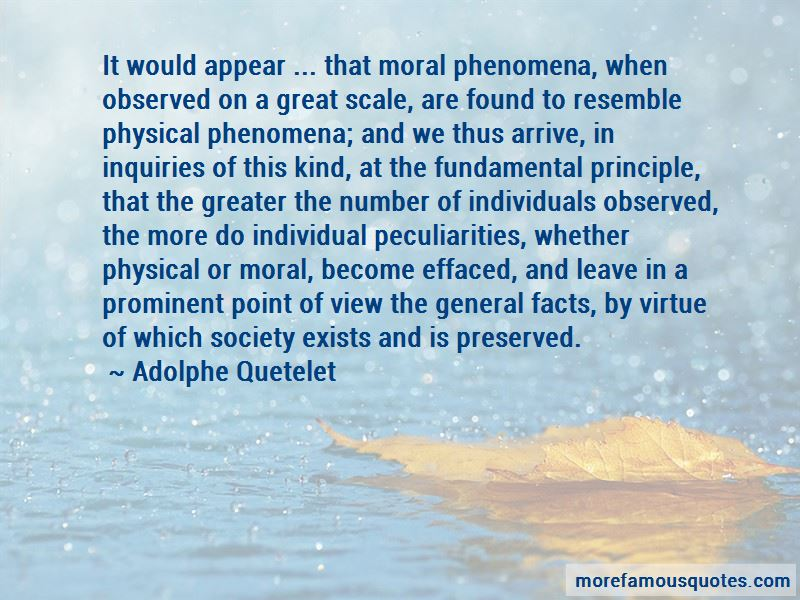 Adolphe Quetelet Quotes Pictures 3