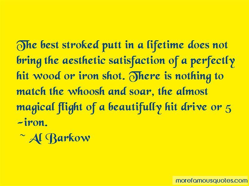 Al Barkow Quotes
