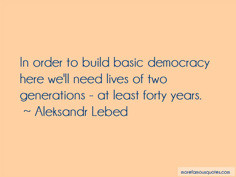 Aleksandr Lebed Quotes Pictures 4