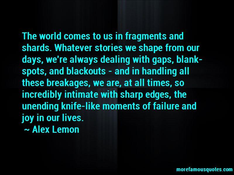 Alex Lemon Quotes Pictures 2