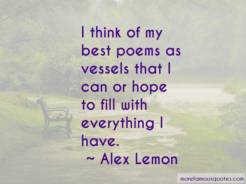 Alex Lemon Quotes Pictures 4