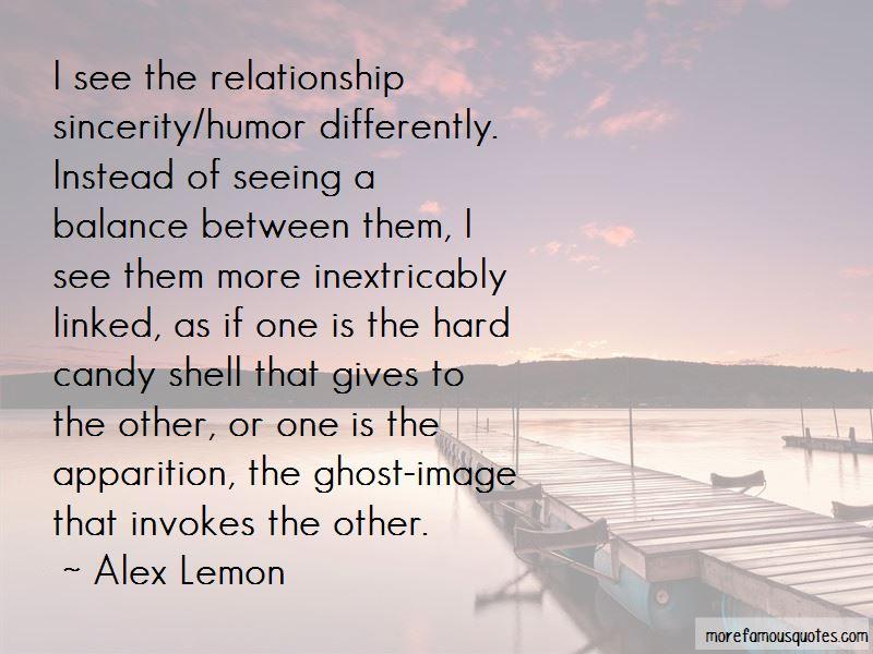 Alex Lemon Quotes