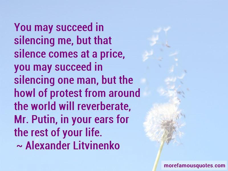 Alexander Litvinenko Quotes Pictures 2