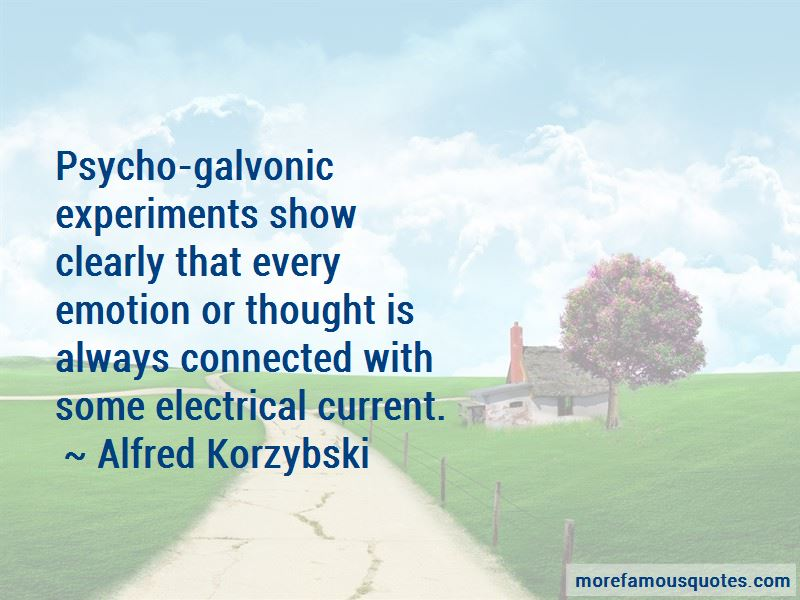 Alfred Korzybski Quotes Pictures 4