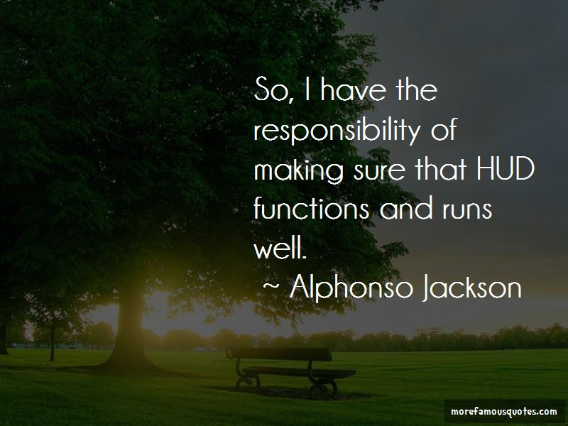 Alphonso Jackson Quotes Pictures 4
