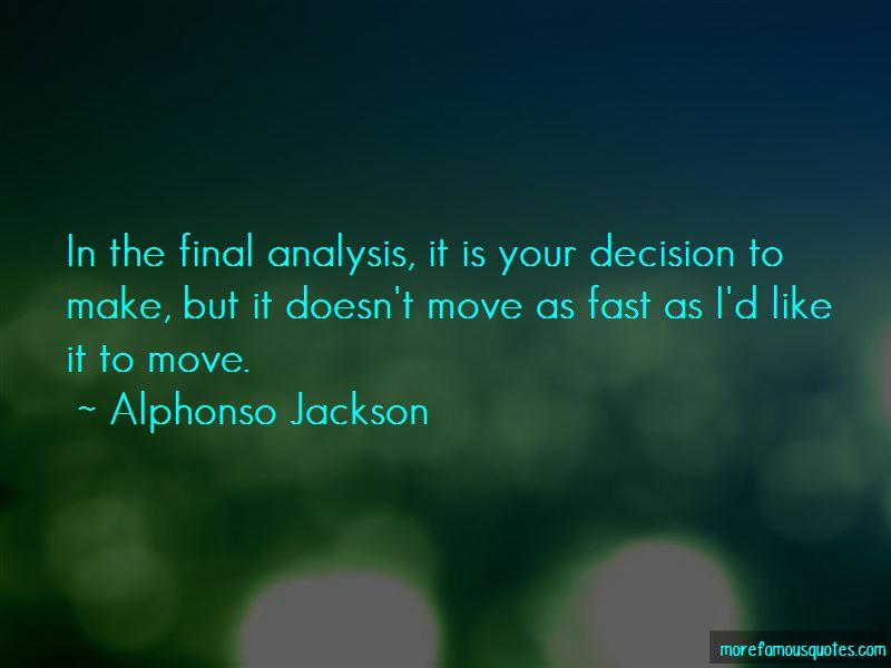 Alphonso Jackson Quotes