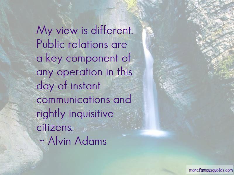 Alvin Adams Quotes