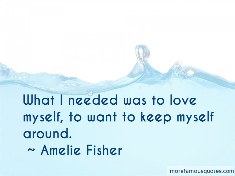Amelie Fisher Quotes