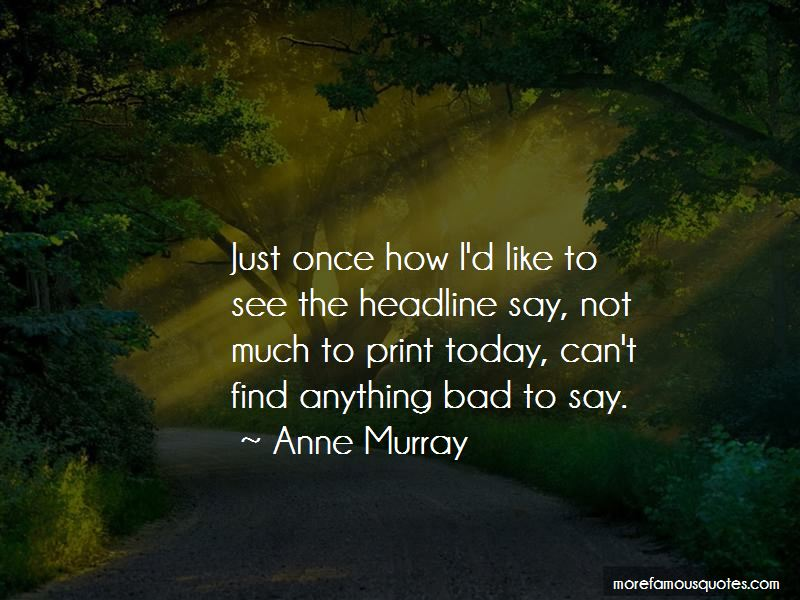 Anne Murray Quotes Pictures 3