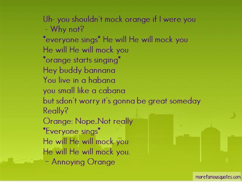 Annoying Orange Quotes Pictures 3