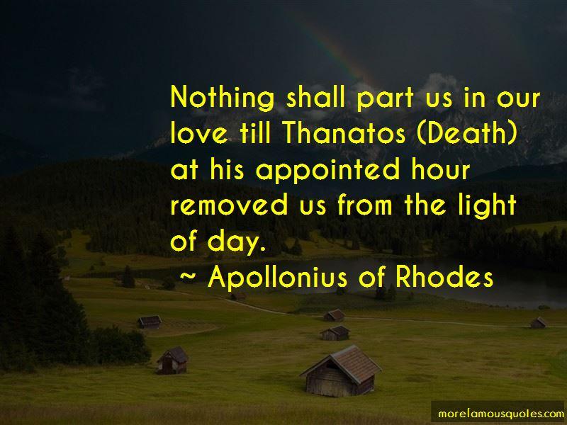 Apollonius Of Rhodes Quotes