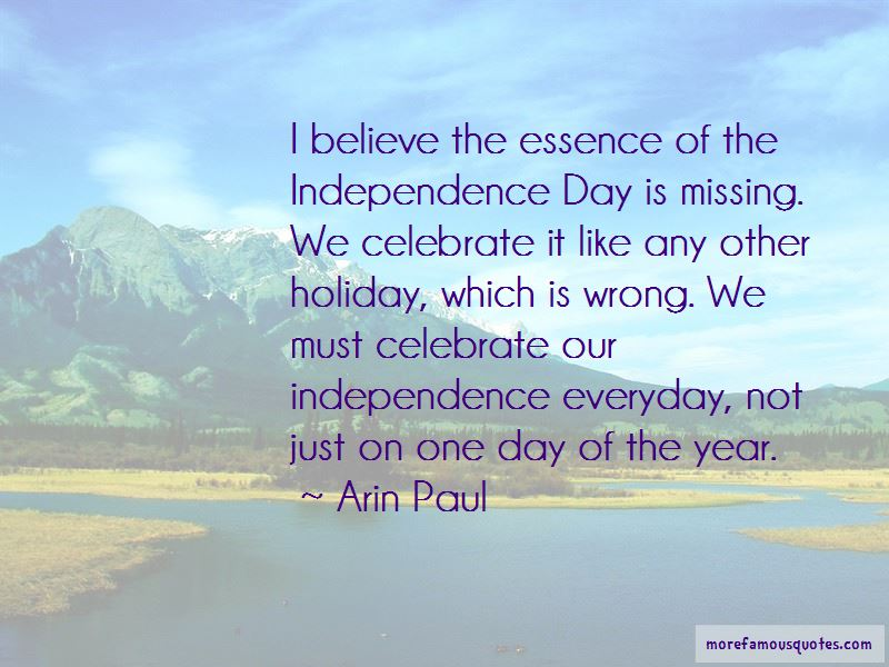 Arin Paul Quotes Pictures 3