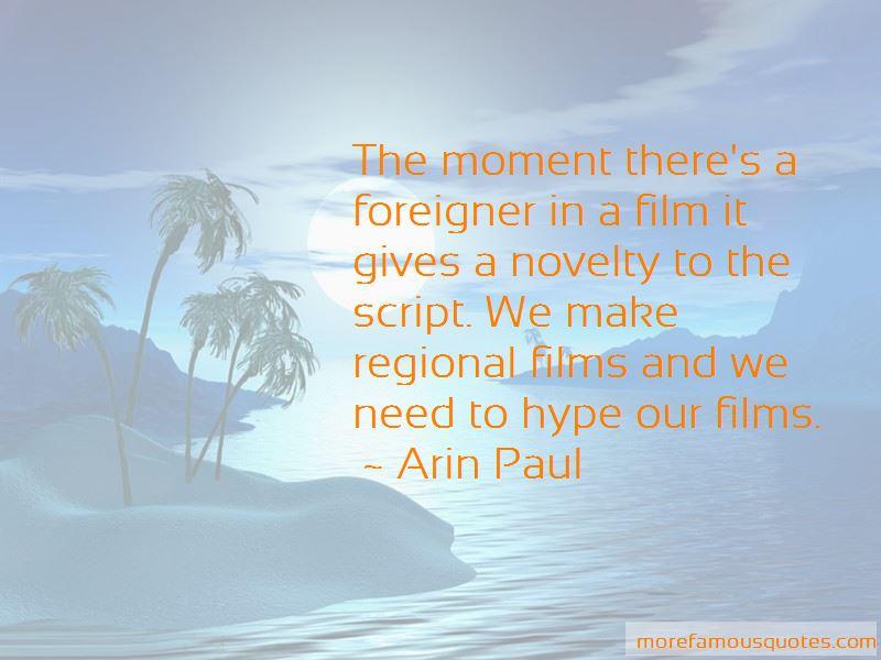 Arin Paul Quotes