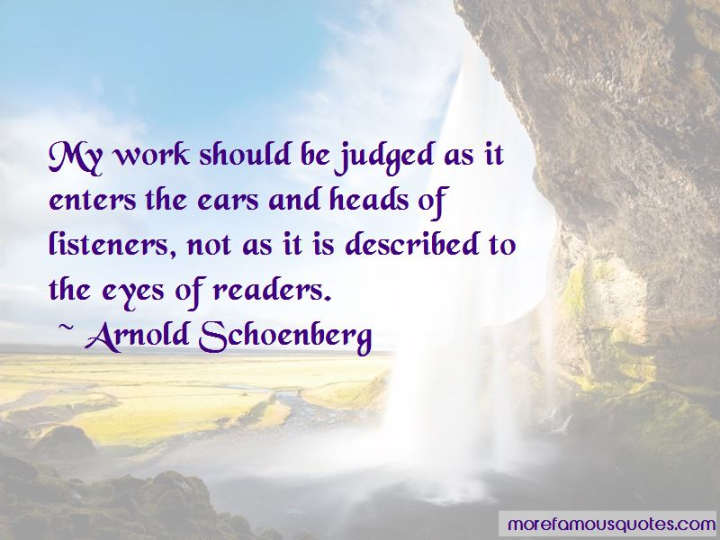 Arnold Schoenberg Quotes Pictures 2