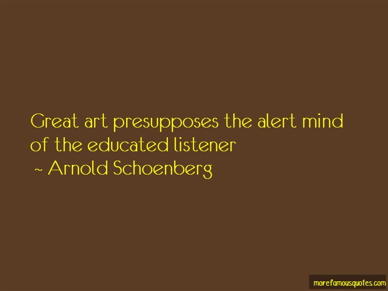 Arnold Schoenberg Quotes Pictures 4