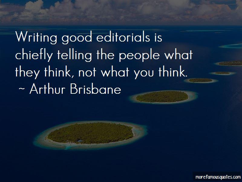 Arthur Brisbane Quotes Pictures 4