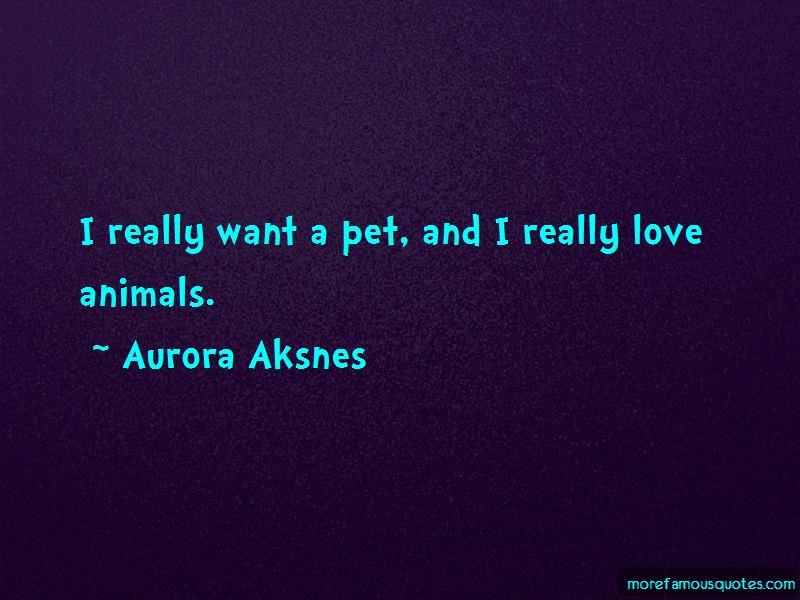Aurora Aksnes Quotes Pictures 4