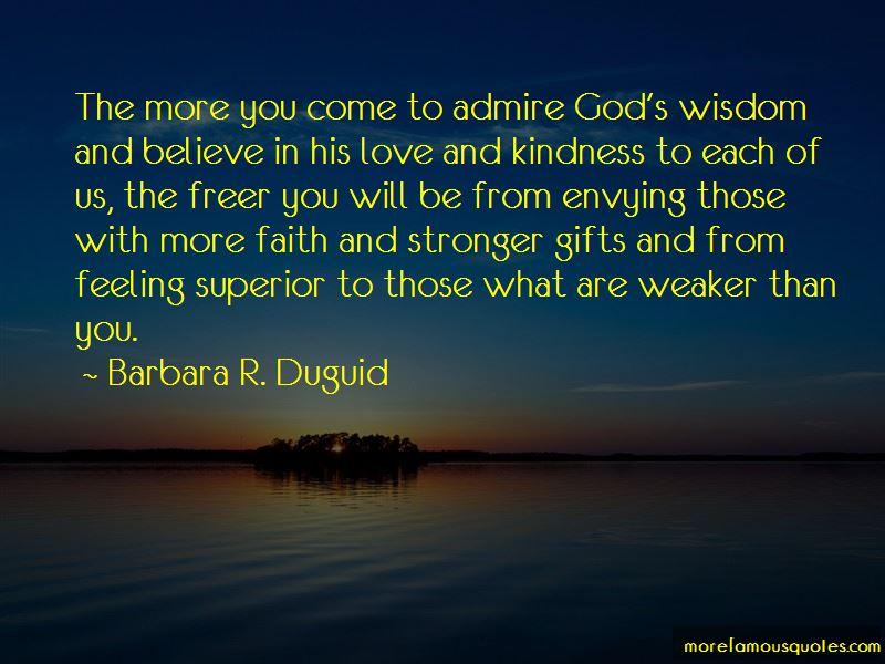 Barbara R. Duguid Quotes
