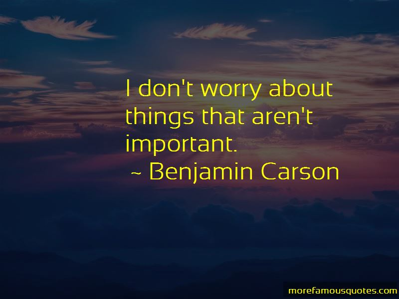 Benjamin Carson Quotes Pictures 4