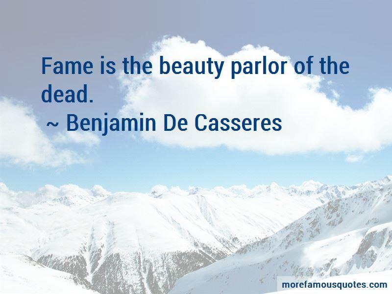 Benjamin De Casseres Quotes Pictures 4