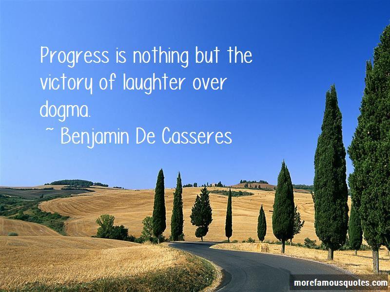 Benjamin De Casseres Quotes