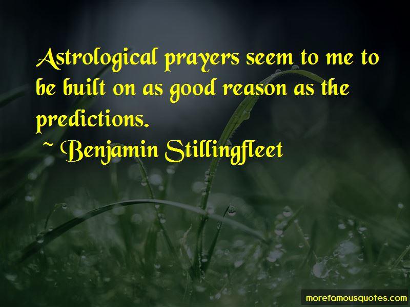 Benjamin Stillingfleet Quotes Pictures 2
