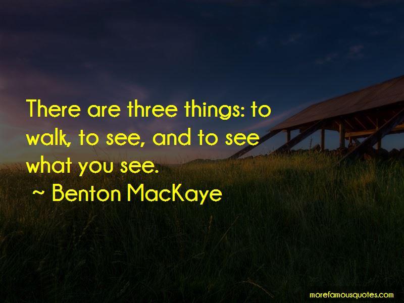Benton MacKaye Quotes Pictures 2