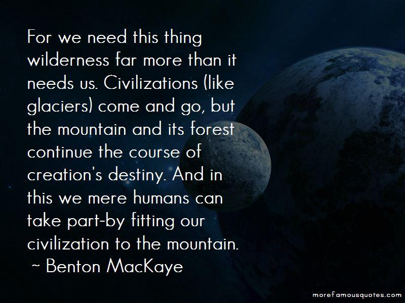 Benton MacKaye Quotes Pictures 4