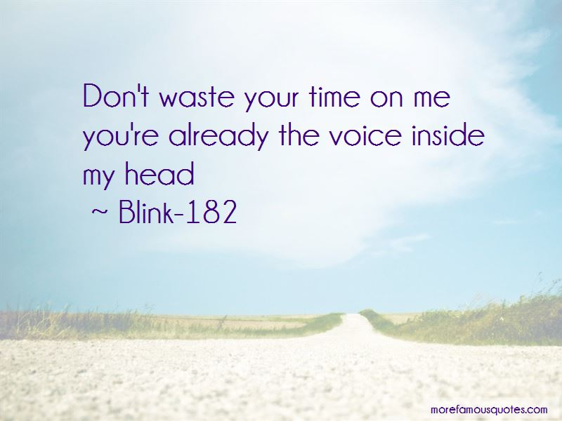 Blink-182 Quotes Pictures 2