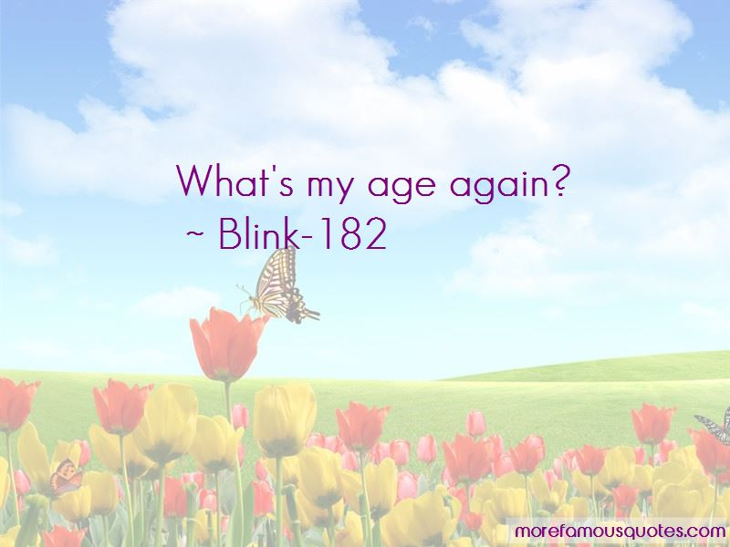 Blink-182 Quotes Pictures 4