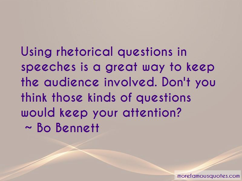 Bo Bennett Quotes Pictures 2