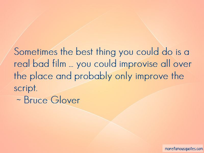 Bruce Glover Quotes Pictures 2