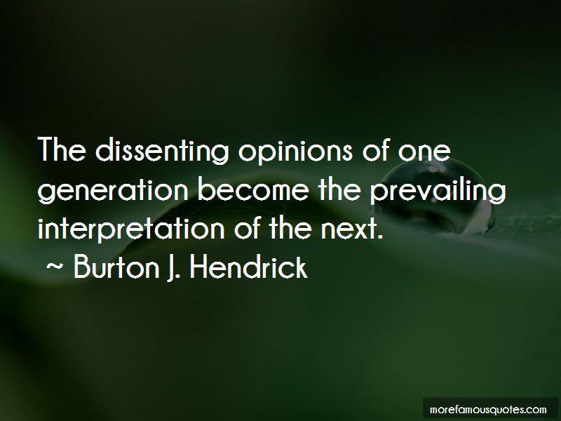Burton J. Hendrick Quotes