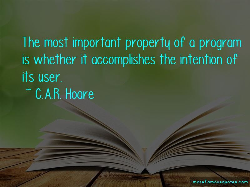 C.A.R. Hoare Quotes Pictures 2