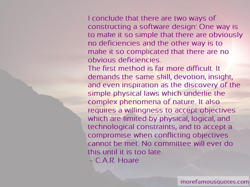 C.A.R. Hoare Quotes Pictures 3
