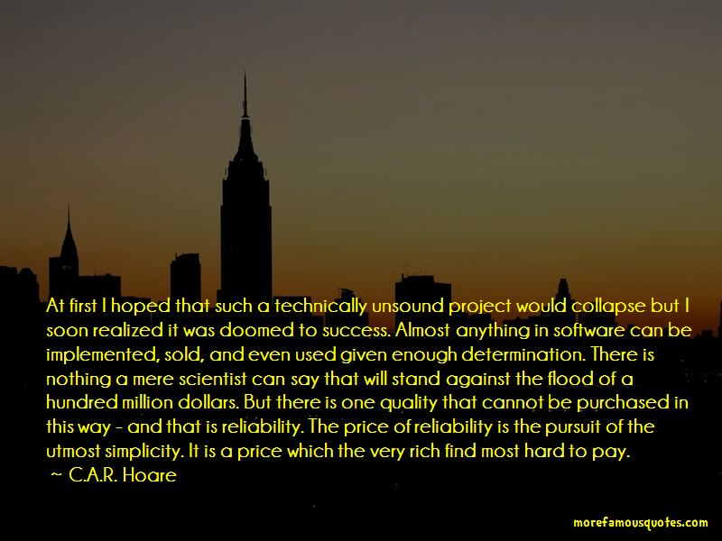 C.A.R. Hoare Quotes