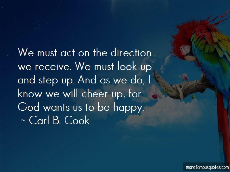 Carl B. Cook Quotes
