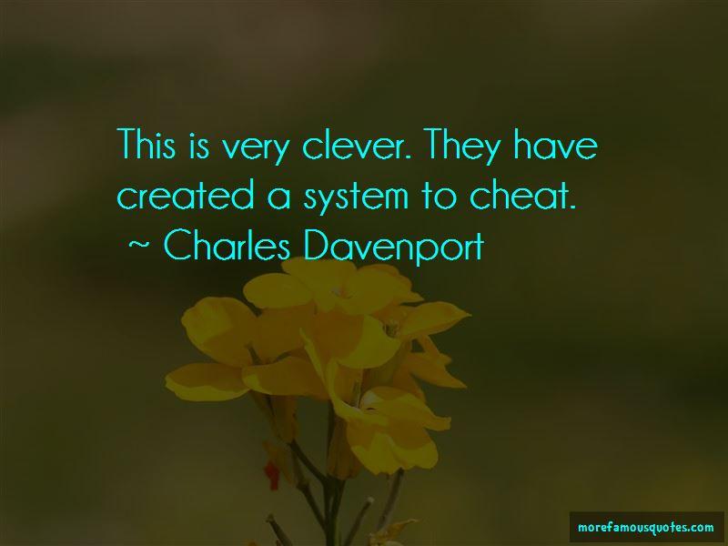 Charles Davenport Quotes