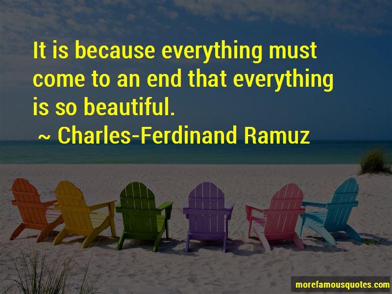 Charles-Ferdinand Ramuz Quotes Pictures 4