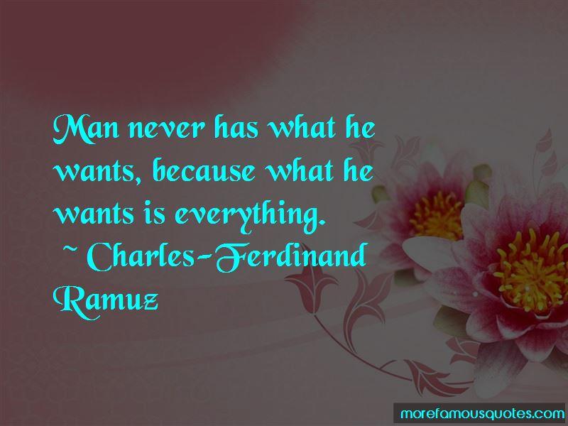Charles-Ferdinand Ramuz Quotes