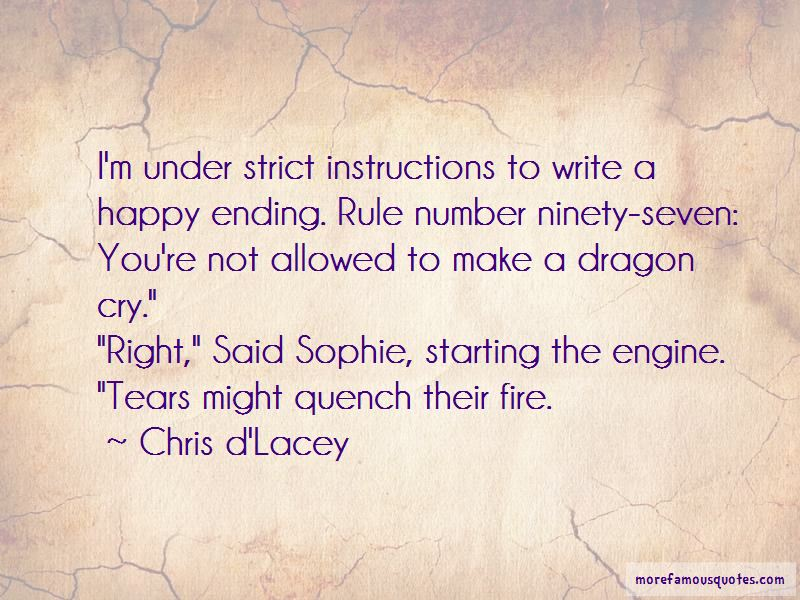 Chris D'Lacey Quotes Pictures 2
